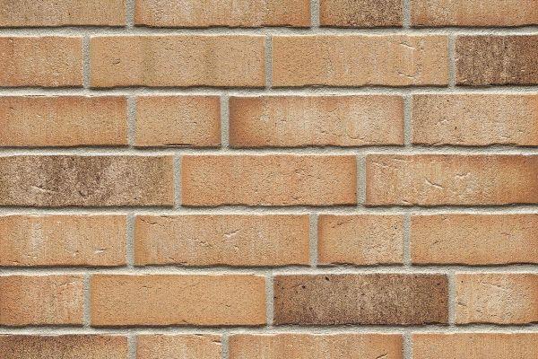 Strangpress-Riemchen BK-R-114-766 (Normalformat (NF)) beige - sand, braun (Klinkerriemchen)