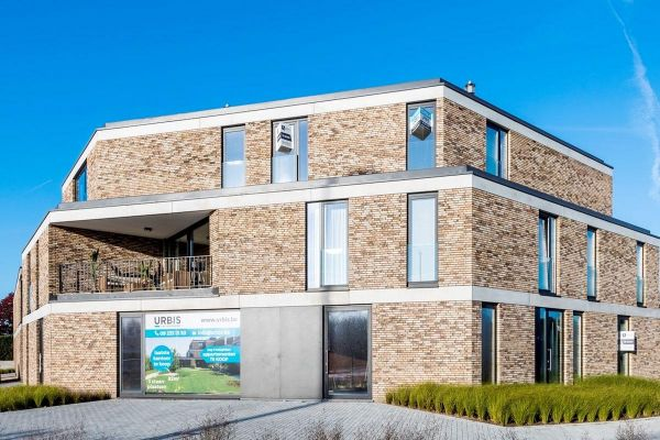 Mehrfamilienhaus  H2 mit Klinker 103-183-WDF beige - braun nuanciert