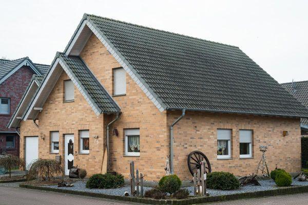 Einfamilienhaus H2 mit Klinker 101-132-NF gelb - bunt - Kohle