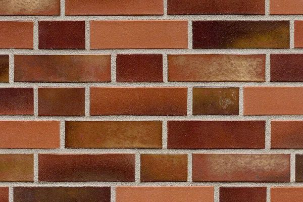 Strangpress-Klinker / Verblender BK-101-152-NF (Normalformat-Klinkerstein (NF)) rot - bunt