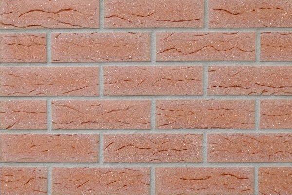 Strangpress-Riemchen BK-R-117-243-NF (Normalformat (NF)) rot (Klinkerriemchen)