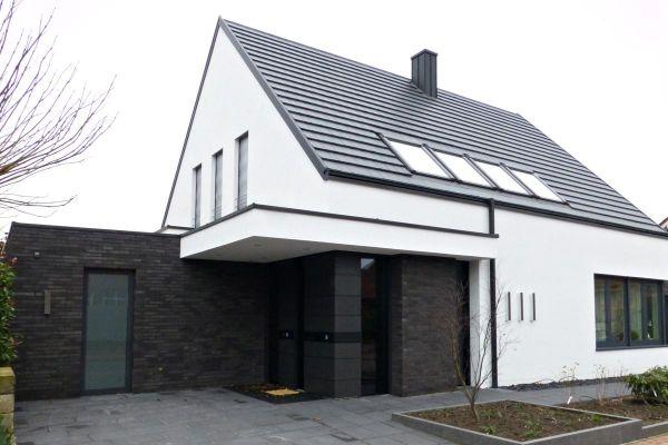 Einfamilienhaus H2 mit Klinker 101-143-ModF schwarz
