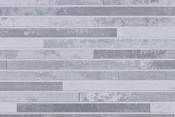 Strangpress-Klinker / Verblender BK-118-113-ModF (Modulformat-Klinkerstein (ModF)) grau nuanciert