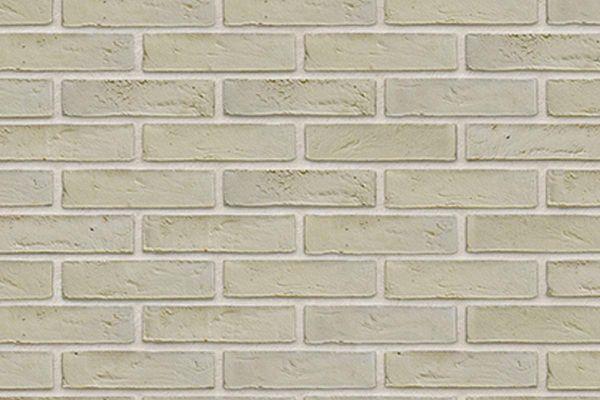 Wasserstrich-Riemchen BK-R-103-316 (Waalformat (WF)) weiß, grau nuanciert (Klinkerriemchen)