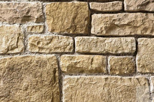 Naturstein-Optik Verblender 123-101-LI-ModF braun, beige - sand nuanciert