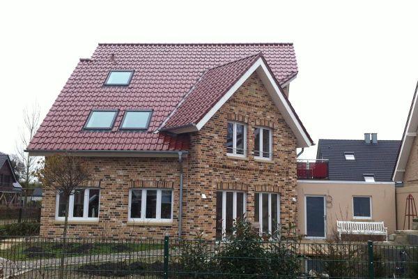 Einfamilienhaus H6 mit Klinker 104-109-NF rot-bunt