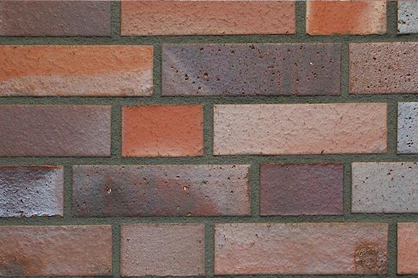 Strangpress-Klinker / Verblender BK-108-141-NF rot-bunt Normalformat (NF)