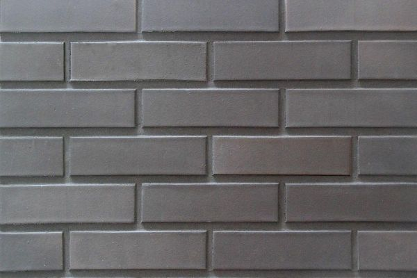 Strangpress-Klinker / Verblender BK-108-129-DF (Dünnformat-Klinkerstein (DF)) schwarz nuanciert