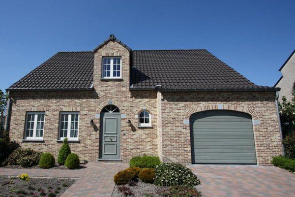 Einfamilienhaus H4 mit Klinker 103-106-WDF braun-bunt