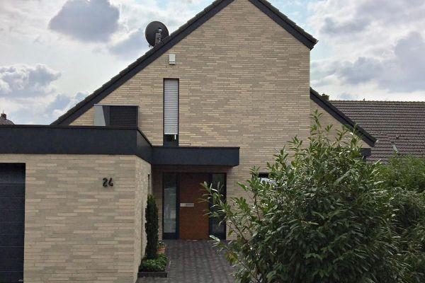 Einfamilienhaus H1 mit Klinker 101-142-ModF beige - grau
