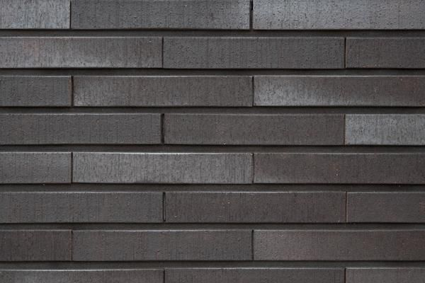Strangpress-Klinker / Verblender BK-108-101-ModF schwarz-grau Modulformat (ModF)