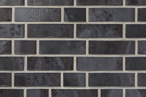 Strangpress-Klinker / Verblender BK-103-206-NF (Normalformat (NF)) schwarz - braun