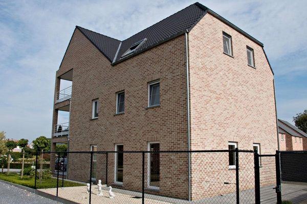 Mehrfamilienhaus mit Klinker 103-171-WDF rot - braun
