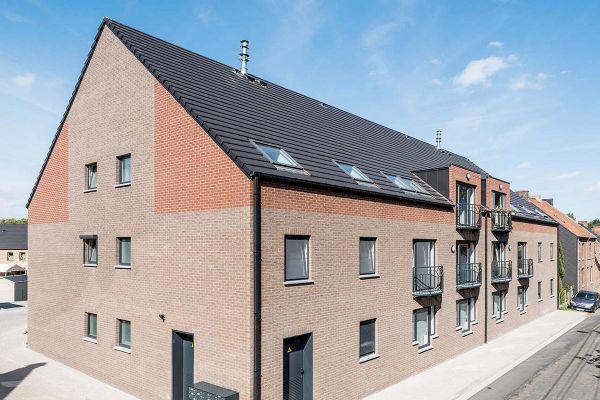 Mehrfamilienhaus H3 mit Klinker 103-131-NF rot-bunt