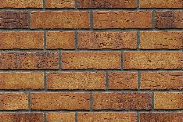 Strangpress-Riemchen BK-R-114-684 (Normalformat (NF)) beige - rot nuanciert (Klinkerriemchen)