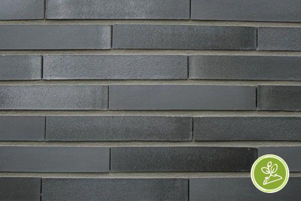Strangpress-Riemchen BK-R-117-203-DF (Dünnformat (DF)) anthrazit (Klinkerriemchen)