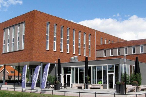 Bürogebäude H2 mit Klinker 103-103-WDF rot-baun-bunt