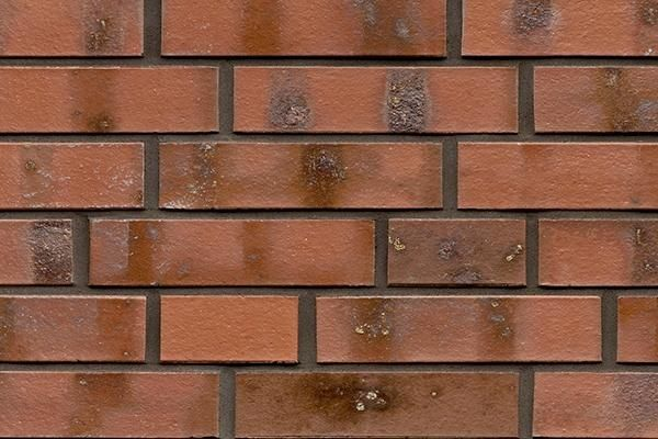 Strangpress-Klinker / Verblender BK-101-102-DF rot - bunt -Kohle Dünnformat (DF)