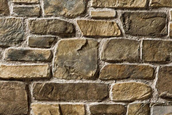 Naturstein-Optik Verblender 123-118-MT-ModF braun, beige - sand nuanciert