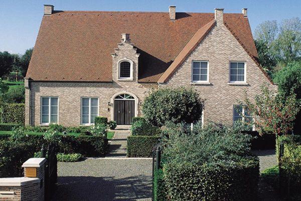Einfamilienhaus H2 mit Klinker 103-106-WDF braun-bunt