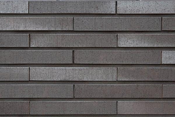 Strangpress-Klinker / Verblender BK-108-130-NF schwarz-grau Normalformat (NF)