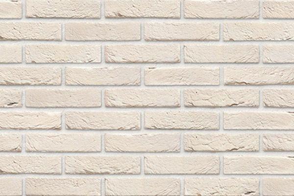 Handform-Klinker / Verblender BK-103-143-WDF (Waaldickformat-Klinkerstein (WDF)) weiß