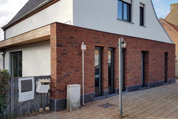 Einfamilienhaus H1 mit Klinker 103-126-WDF rot-bunt