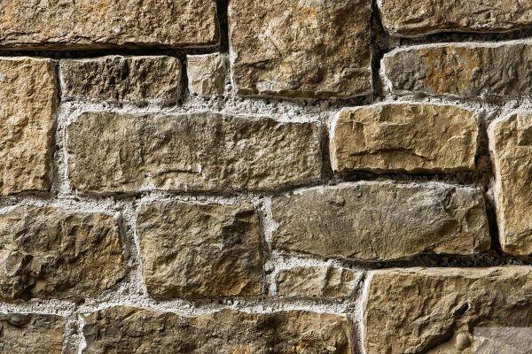 Naturstein-Optik Verblender 123-123-MT-ModF braun, beige - sand nuanciert