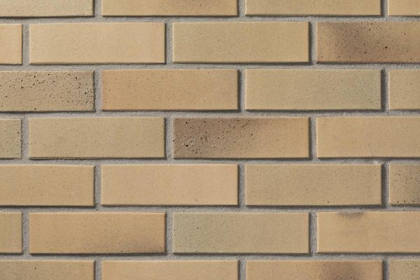 Strangpress-Klinker / Verblender BK-102-156-NF (Normalformat-Klinkerstein (NF)) beige-sandfarben