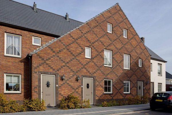 Mehrfamilienhaus H3 mit Klinker 103-139-NF rot-braun