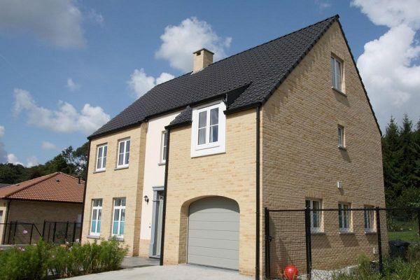 Einfamilienhaus   H5 mit Klinker 103-110-WDF gelb-bunt