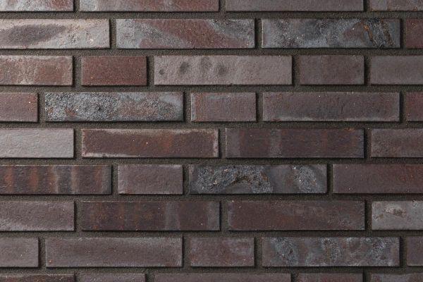 Strangpress-Klinker / Verblender BK-101-107-DF (Dünnformat-Klinkerstein (DF)) braun - grau - geflammt
