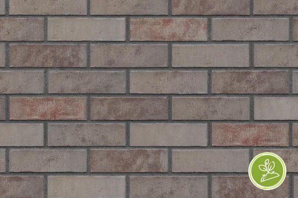 Strangpress-Riemchen BK-R-103-432 (Normalformat (NF)) braun nuanciert (Klinkerriemchen)