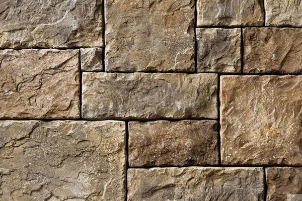 Naturstein-Optik Verblender 123-107-MT-ModF braun, beige - sand nuanciert