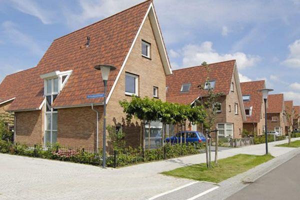 Einfamilienhaus H1 mit Klinker 103-108-WDF hellbraun-bunt