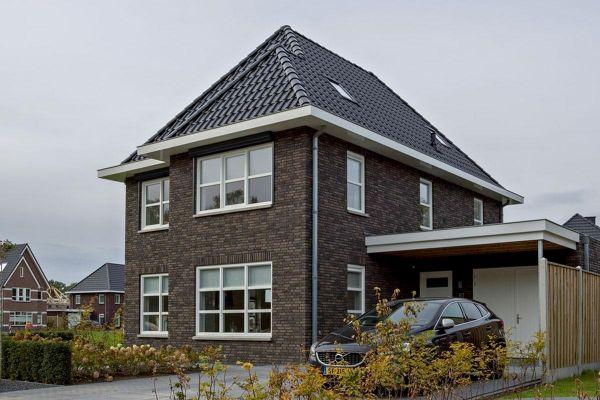 Stadtvilla H3 mit Klinker 103-190-WDF grau - anthrazit