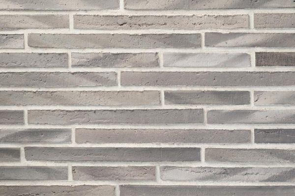 Wasserstrich-Klinker / Verblender BK-122-106-ModF (Modulformat-Klinkerstein (ModF)) grau nuanciert