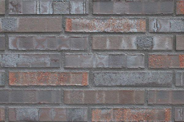 Strangpress-Klinker / Verblender BK-108-132-ModF (Modulformat-Klinkerstein (ModF)) braun-anthrazit