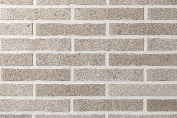 Strangpress-Klinker / Verblender BK-104-150-ModF (Modulformat-Klinkerstein (ModF)) weiß - grau