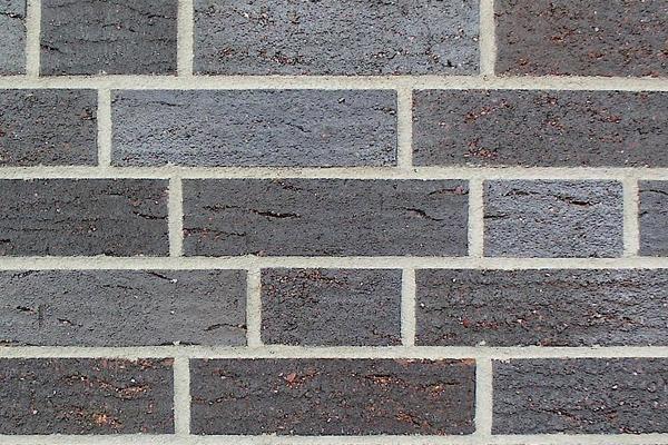 Strangpress-Klinker / Verblender BK-108-134-ModF schwarz-grau Modulformat (ModF)