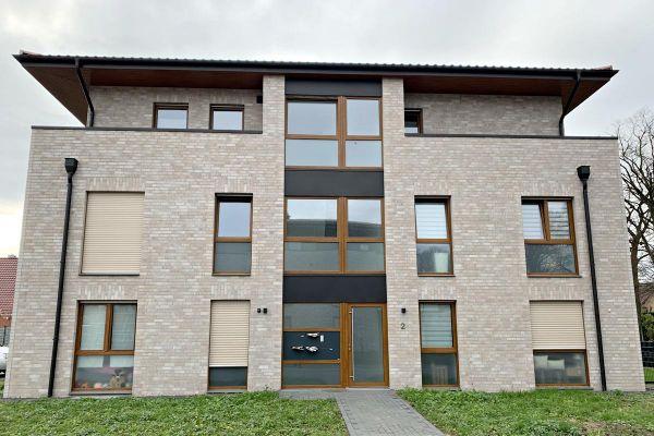 Mehrfamilienhaus H3 mit Klinker 101-139-NF beige - grau