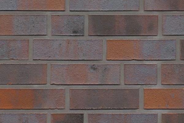 Strangpress-Klinker / Verblender BK-103-208-NF rot - blau - bunt Normalformat (NF)