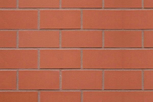 Strangpress-Klinker / Verblender BK-108-157-2DF (Zweifaches Dünnformat-Klinkerstein (2DF)) rot