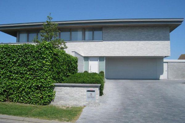 Stadtvilla / Luxusvilla mit Klinker 103-148-WDF grau