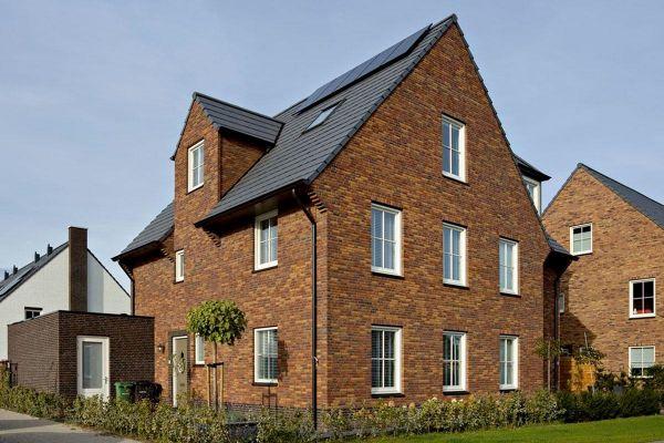 Einfamilienhaus mit Klinker 103-139-NF rot-braun