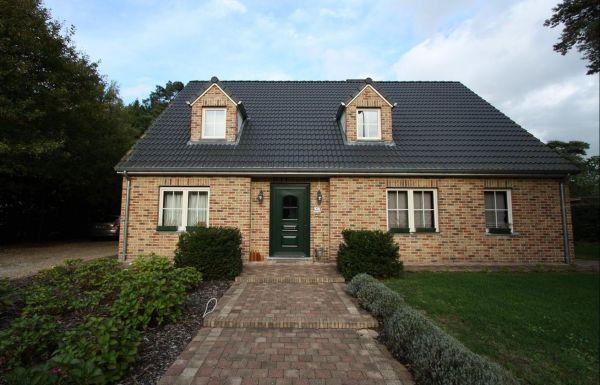 Einfamilienhaus H4 mit Klinker 103-105-WDF braun-rot