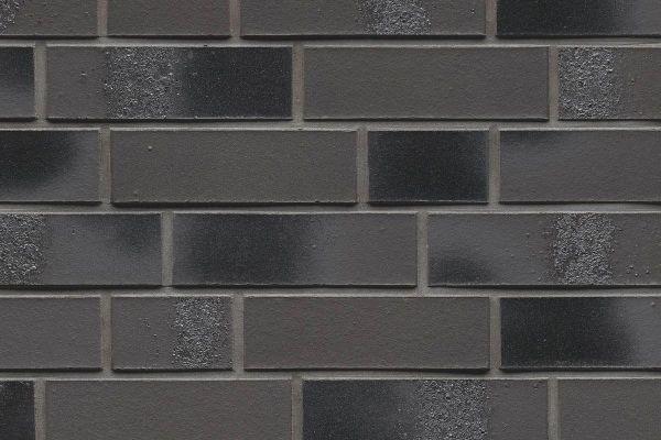 Strangpress-Riemchen BK-R-114-567 (Normalformat (NF)) grau - anthrazit nuanciert (Klinkerriemchen)