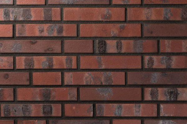 Strangpress-Klinker / Verblender BK-101-164-DF (Dünnformat-Klinkerstein (DF)) rot - blau - bunt