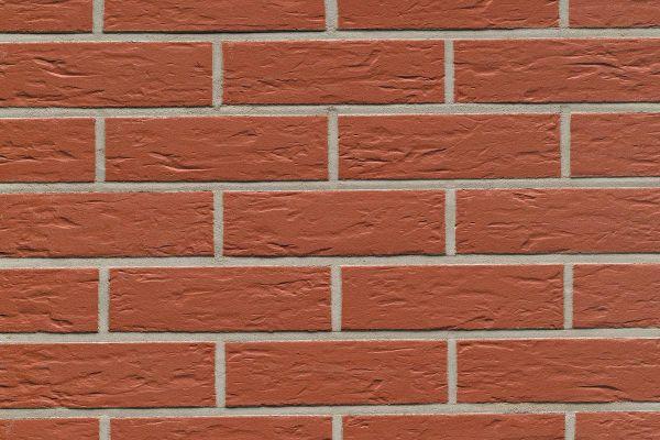 Strangpress-Riemchen BK-R-114-440 (Normalformat (NF)) rot (Klinkerriemchen)