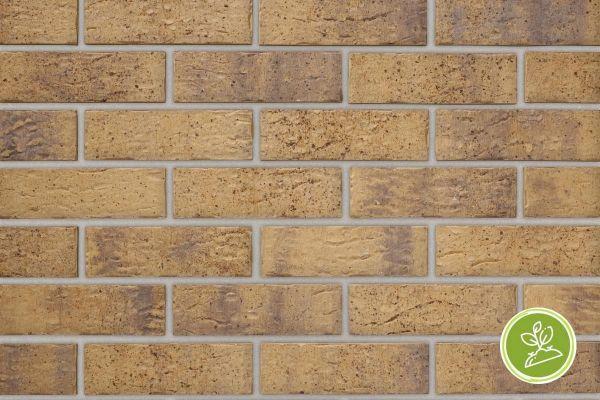 Strangpress-Riemchen BK-R-103-325 (Normalformat (NF)) beige / sand nucaniert (Klinkerriemchen)